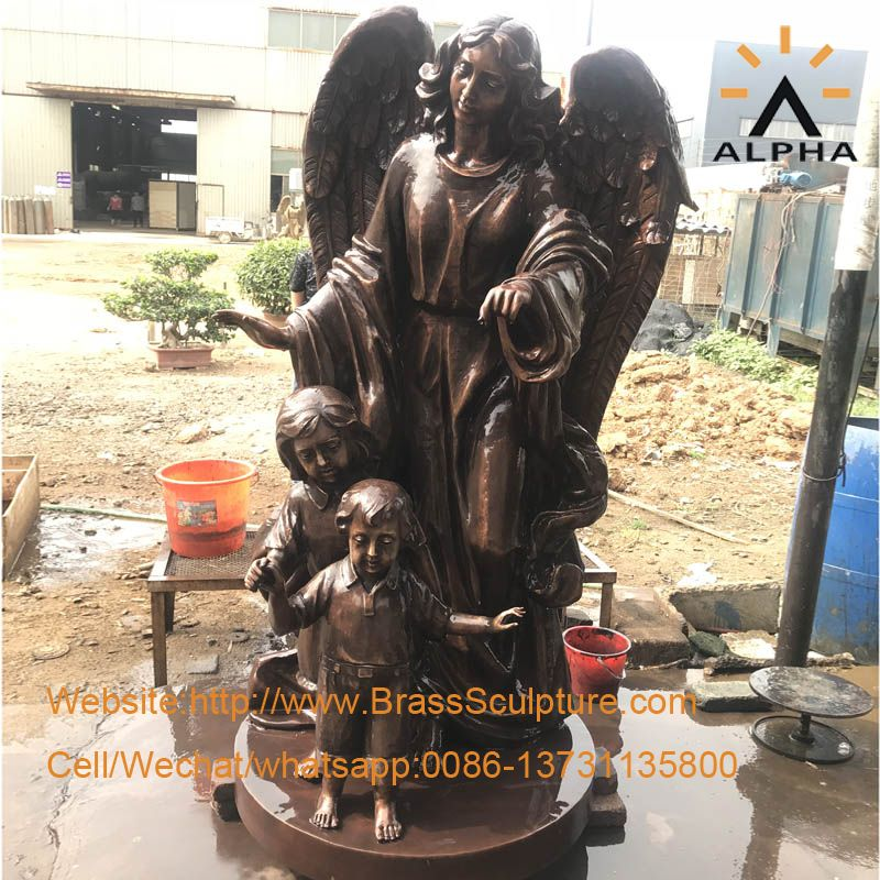 life size angel statue