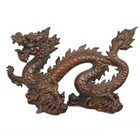 Antique Chinese dragon sculpture CA-070