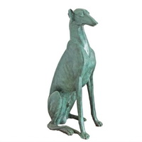 Hunting dog sculpture CA-077